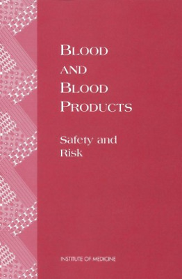 Iom-Blood And Blood Products:  BOOK NEW • 41.82£