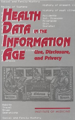 Iom-Health Data In The Information Age:  BOOK NEW • 59.62£