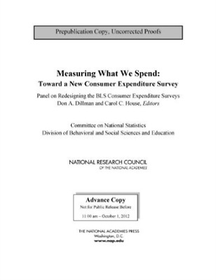 Measuring What We Spend:  BOOK NEW • 41.52£