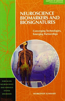 Neuroscience Biomarkers And Biosign  BOOK NEW • 36.39£
