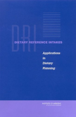 Fnb-Dietary Reference Intakes:  BOOK NEW • 44.76£