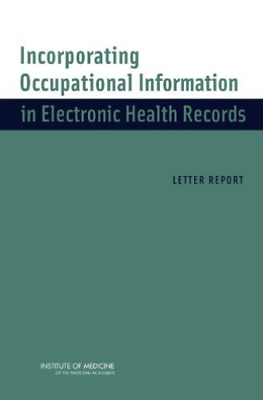 Incorporating Occupational Informat  BOOK NEW • 29£