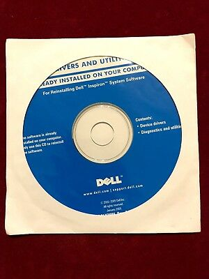 Dell Inspiron System Software CD - Drivers & Utilies • 2.99£