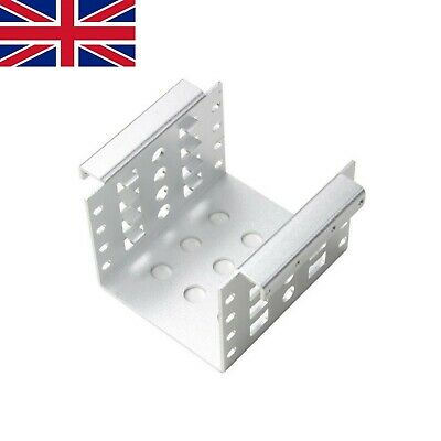 [UK Ship] 4-Bay HDD  Aluminum Rack 3.5  To 2.5  SSD/HDD Hard Drive Mount Bracket • 9.99£