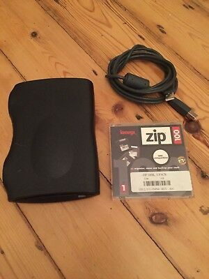 USB Zip Drive And Spare Floppy • 125£