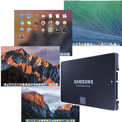 New 2.5  SSD With Pre-loaded Mac OS - Mac Mini And Macbook System Upgrade/repair • 195£