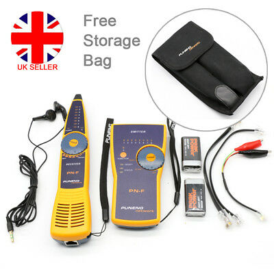 PN-F Wire Network Tracker Toner Probe Cable Tester Finder Fluke Battery UK L4U • 32.90£