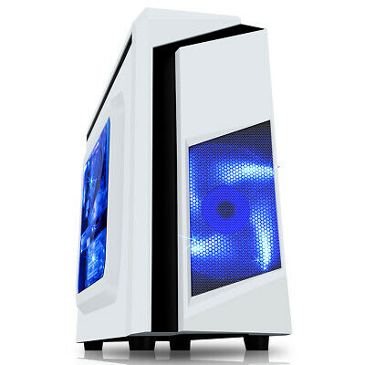 ULTRA FAST Quad Core Gaming PC Tower WIFI & 8GB 1TB HDD & Win 10 + 2GB Graphics • 179.99£
