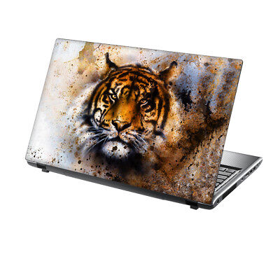 TaylorHe 13 -14  Laptop Skin Vinyl Sticker Decal Protection Cover Tiger Animal • 7.95£