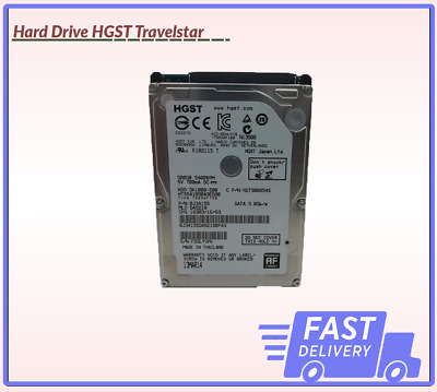 Cheap Hard Drive HGST Travelstar 5K1000-500 500GB 5400RPM SATA 3.0Gb/s UK Seller • 19.99£