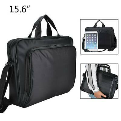 15.6 Zipped Document Laptop Messenger Shoulder Bag Briefcase Travel Office Strap • 8.59£