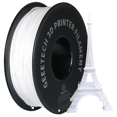 Buy 4 Get 1 Free! Geeetech White PLA Filament  1.75mm 1kg From UK 8 Colors • 21.99£