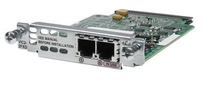 USED Cisco VIC2-2FXO 2-port Voice Interface Card - FXO • 71.22£