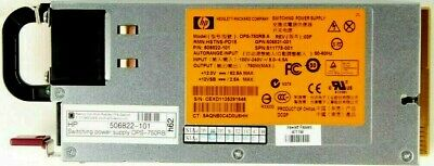 HP ProLiant ML350 G6 DPS-750RB 750W Switchoing Power Supply 506822-101--PD18 • 11.55£