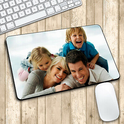 Personalised Mouse Mat Xmas Gift Your Photos / Designs / Text Printed Customised • 4.99£