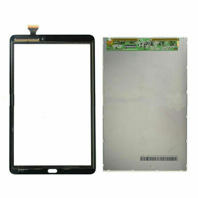 Black Touch Screen Digitizer + LCD FOR Samsung Galaxy Tab E 9.6  SM-T560 SM-T561 • 33.99£