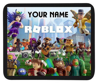 PERSONALISED (ROBLOX) CUSTOM NAME GAME MOUSE MAT / PAD  For PC / Laptop • 4.95£