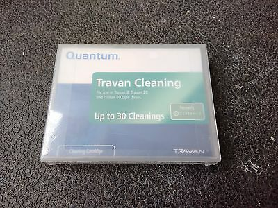 CTMCL Quantum Travan Cleaning Tape New Sealed 30 Cleanings • 29.99£