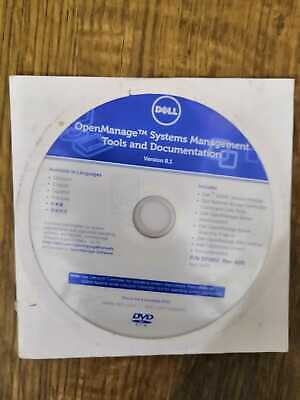 Dell Openmanage System Management Tools And Documentation DVD Version 8.1 • 30£