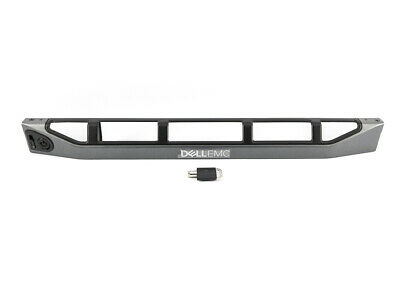 Dell EMC PowerEdge R320 R420 R430 R620 R630 Front Bezel Cover With Key 18CFM  • 29.99£