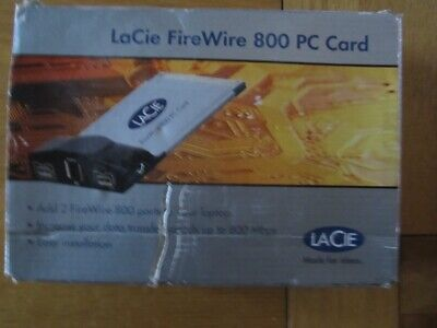 LaCie Firewire 800 PC Card - 109945  • 95£