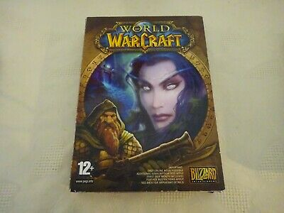 PC Game CD Rom Win 98 World Of Warcraft Game  • 4.99£