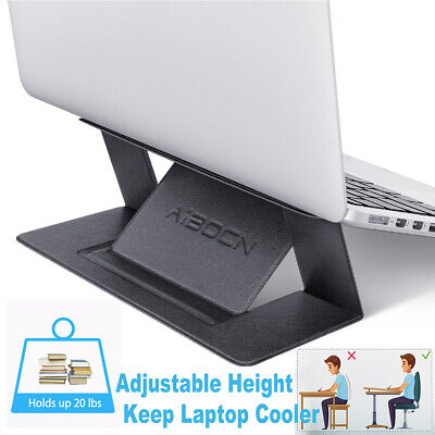 Multi-Angle Invisible Laptop Table Cooling Holder Seamlessly Folding Stand • 4.99£