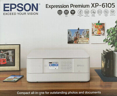 Epson Expression Premium XP-6105 Colour Wireless All-in-One Colour Printer • 119£