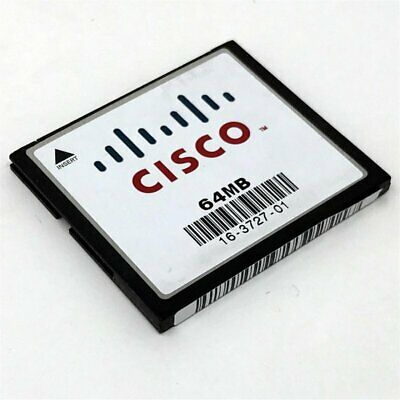 10 X Cisco 64MB Flash Or Cisco 64MB Compact Flash CF Card CCNA CCNP CCIE • 19.99£