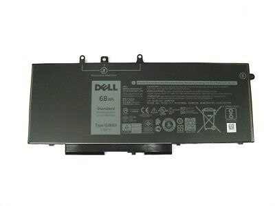 Genuine DELL Latitude 5280 5480 5580 68Whr 4 Cell Battery GD1JP GJKNX 451-BBZG • 59.99£