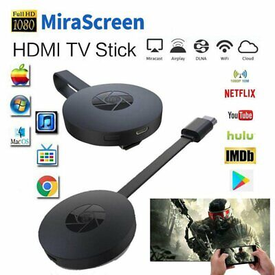 HD HDMI TV Buddy Caster Stick Receiver Wireless Display Screen Mirroring Adapter • 12.99£
