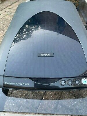 Epson Perfection 3490 Photo Colour Flatbed Scanner • 29.99£