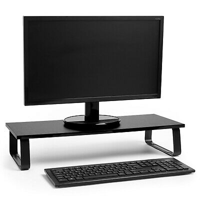 VonHaus Monitor Stand – Screen Rise For Computer Workstation • 16.99£