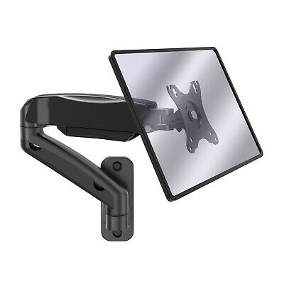 VonHaus Wall Monitor Arm - 17  - 27  Screens - Single Desk Stand Mount • 22.99£