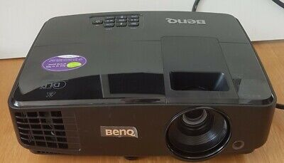 BenQ MS504 SVGA 3000 Lumens 3D Projector 221hrs Used • 50£