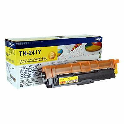 Brother TN-241Y Toner Cartridge, Standard Yield, Yellow, Brother Genuine • 68.65£