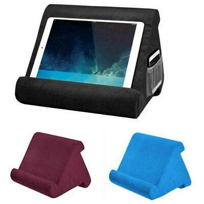 Tablet Stand Pillow Book Reader Holder Rest Lap Reading Cushion For IPad Phone • 9.99£