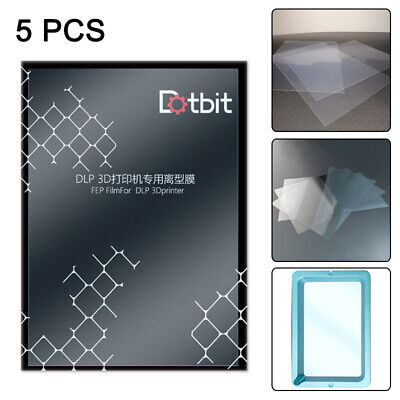 5pcs Fep Film Dlp Lcd 3d Printer For Sla Anycubic Photon Resin High Quality • 14£