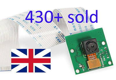 5MP Camera Module 1080P For Raspberry Pi 4/ 3 Model B+/ 3 / 2, Goods In UK • 5.99£