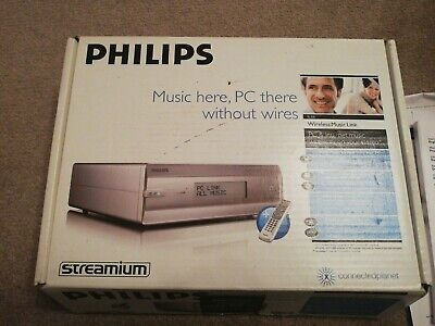 Philips Streamium Sl50i. Boxed And New.  • 17.99£