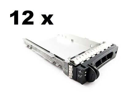 12 X Dell Poweredge 3.5  SAS SATA Hot Swap HARD DRIVE TRAY SLED CADDY D981C • 29.99£
