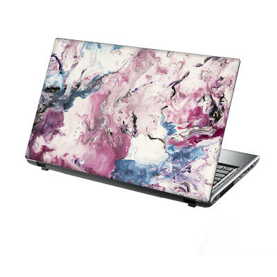 TaylorHe Laptop Skin 15.6  Vinyl Sticker Decal Colourful Abstract Painting Pink  • 7.95£