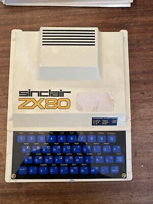 Sinclair ZX80 Computer - Good Example Untested Plus Manual • 325£