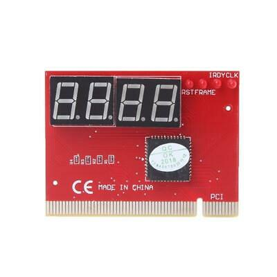Computer PCI POST Card Motherboard LED 4-Digit Diagnostic Test PC Analyzer N • 3.68£