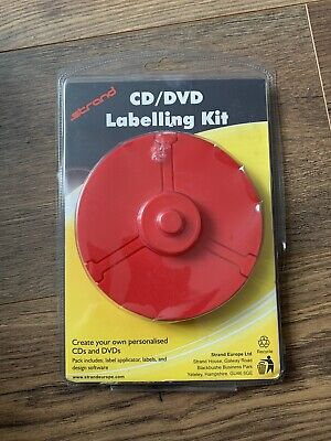 Strand CD & DVD Labelling Kit • 7.50£