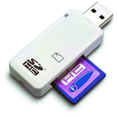 SD Memory Card Reader SDHC SDXC USB 2.0 Camera Adapter • 3.99£