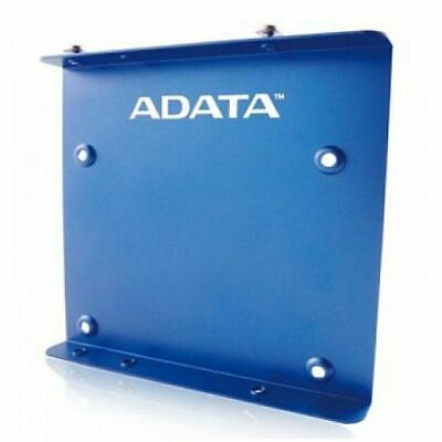 Adata SSD Mounting Kit, Frame To Fit 2.5  SSD Or HDD Into A 3.5  Drive Bay, Blue • 4.99£