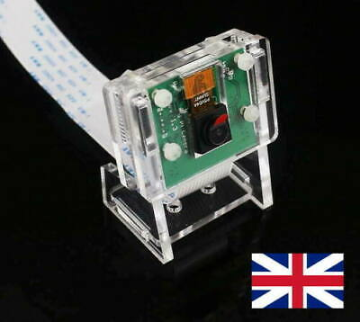 5MP Camera Module 1080P For Raspberry Pi 3 Model B+/ 3 / 2 With Holder, In UK • 9£