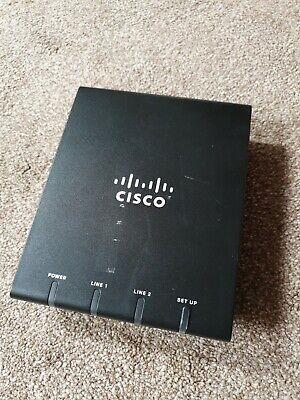 Cisco ATA187 Analog Telephone Adapter With No PSU • 20£