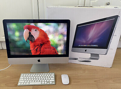 APPLE IMAC A1311 21.5  CORE I3 8GB RAM 500GB HARD DRIVE GREAT CONDITION BOXED • 289£